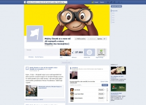 Admin Facebook stránky